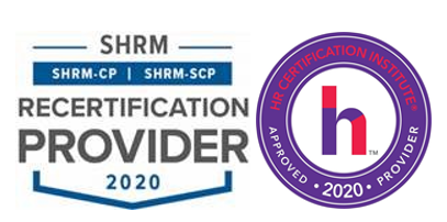 SHRM and HRCI Certification logos